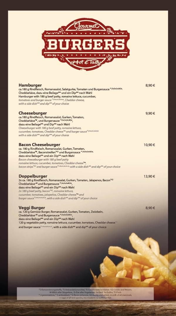 Burger essen Bensheim Restaurant