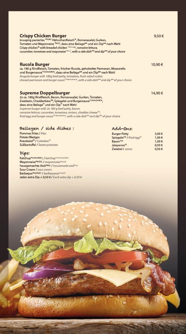 Burger Restaurant Bensheim