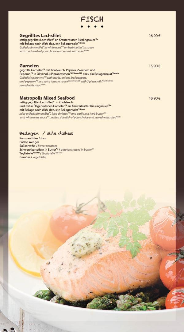 Fisch Restaurant Metropolis Bensheim